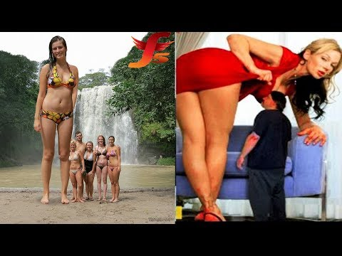Top 5 Worlds Tallest Woman Ever   5 Longest Women In The Wold