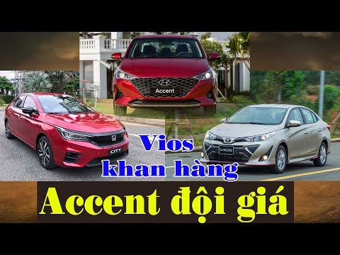 Toyota Vios khan hàng, Hyundai Accent 2021 đội giá - khách mua xe cuối năm méo mặt