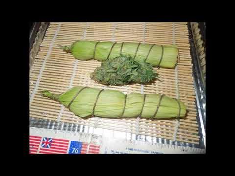 Malawi Style Cannabis Cob making