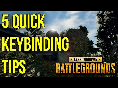 5 Quick Keybinding Tips To Help You In BATTLEGROUNDS