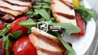 Салат с куриной грудкой и апельсином - Рецепты от Baron Food