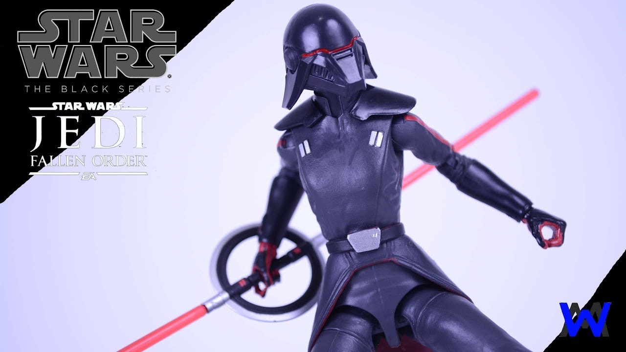 """6/"""" Action Figure Star Wars Black Series Fallen Order Second Sister Inquisitor"""