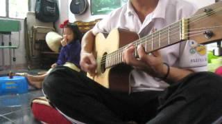 Ruoc tinh ve voi que huong-  Bim's Guitar version