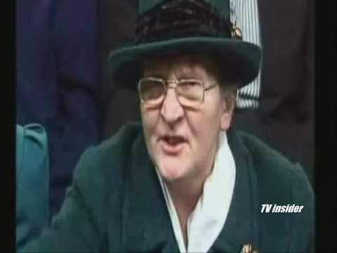 BBC Question Time Old Lady Heckler & Orange Cat Blooper