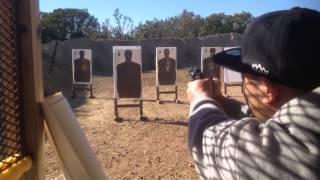 Shooting Range Copperas Cove Texas. December 2014