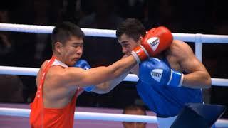 22-летний казахстанский боксер побил узбека и стал чемпионом мира
