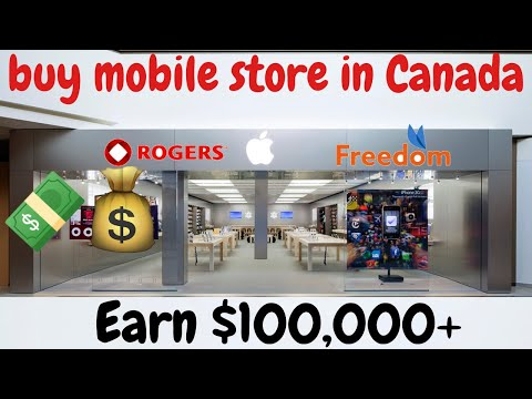 How INTERNATIONAL STUDENT bought MOBILE STORE BUSINESS in CANADA