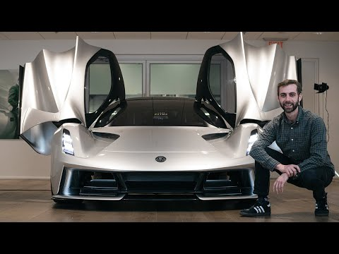 Isolated with The LOTUS EVIJA - A $2.5 Million 2,000 Horsepower ELECTRIC Hypercar