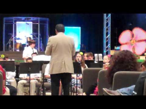 River City Believers Academy SPRING FINE ARTS NIGHT BAND PORTION 2015