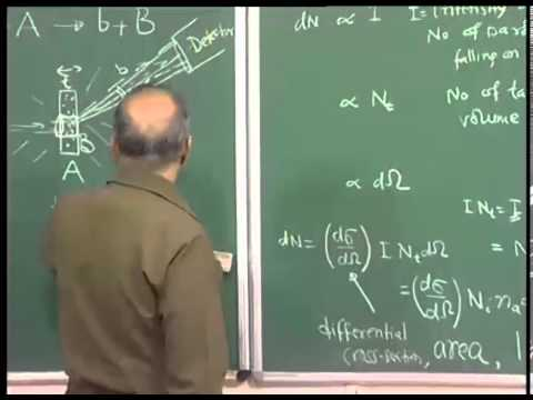 Mod-01 Lec-30 Nuclear Reactions