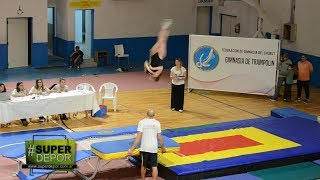 Finalizó el Campeonato Provincial de Gimnasia de Trampolín