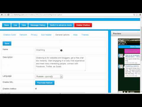Chatwing Website creator add chat free - Vkontakte