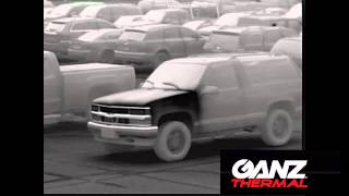 Ganz Thermal Imaging Camera Series Demonstration - Car Theft detection