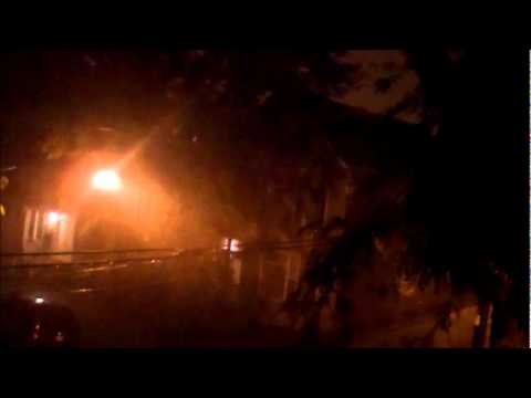 Late Night Severe Thunderstorm In Chicago  ( 7-27-11 )