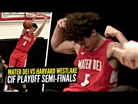 Mater Dei vs Harvard Westlake PLAYOFFS Round 3!! Devin Askew Showing WHY He Got Snubbed By McDsAAG!