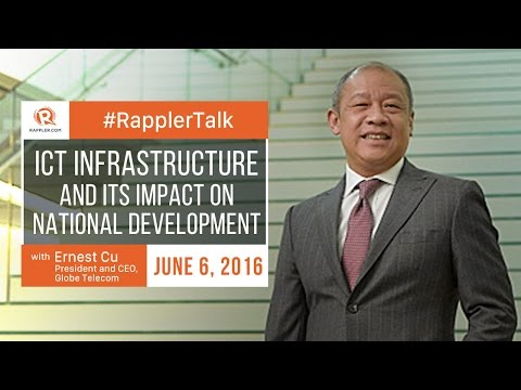 Rappler Talk: Ernest Cu on ICT infrastructure and its impact on national development