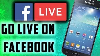 How To Go Live On Facebook - Android 2016 in Urdu / Hindi