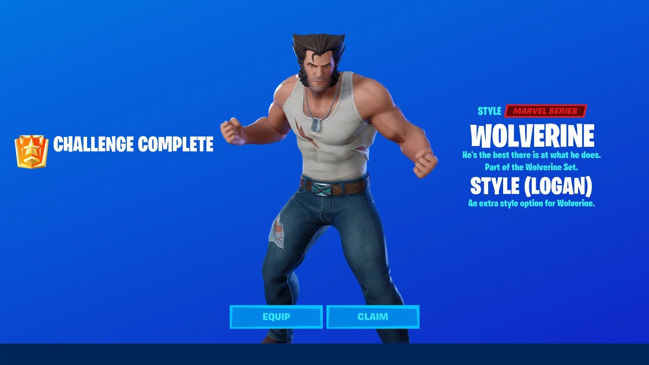 How to Unlock Wolverine Logan Edit Style in Fortnite Season 4! - All Wolverine Challenges Guide
