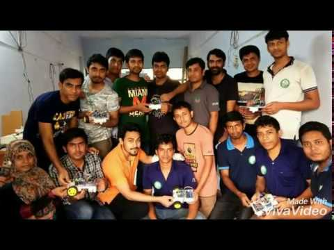 Workshop on Making Line Follower Robot organized by DUET Robotics Club(DRC)