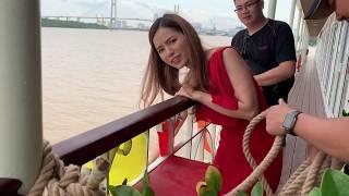 Lê Hạ Anh bất chấp nhảy Du thuyền trốn Mẹ chồng  Hậu trường Muôn Kiểu Làm Dâu