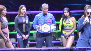 Kylie Fulmer vs. Dulce Galaviz FULL FIGHT for the WBF Intercontinental title