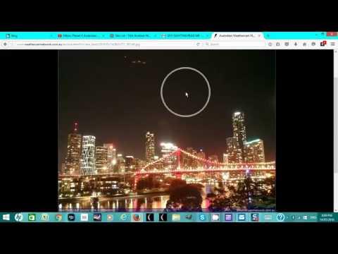 Nibiru/ Planet X - 100% PROOF OF UFO's In Australia Sky