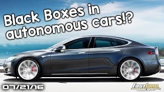 Black Boxes in Autonomous Cars, Aston Martin AM-RB to spawn New Supercar - Fast Lane Daily