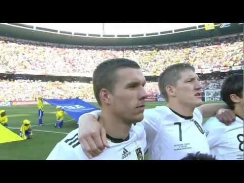German National Anthem World Cup 2010