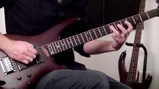 ibanez src6 wnf walnut flat short scale 30 6 string crossover bass guitar demo