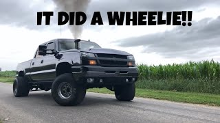 I broke my Duramax tie rods ON PURPOSE (Boosted Launch)