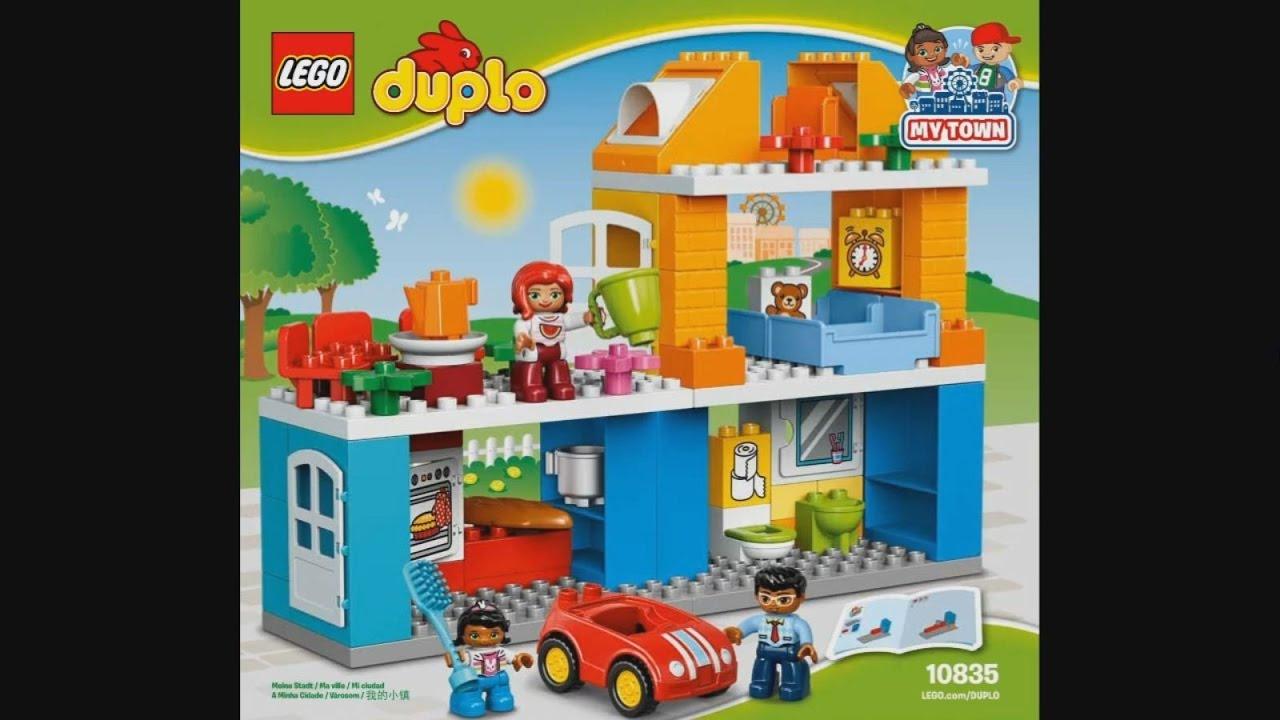 LEGO Duplo 10835 Family House - instruction timelapse