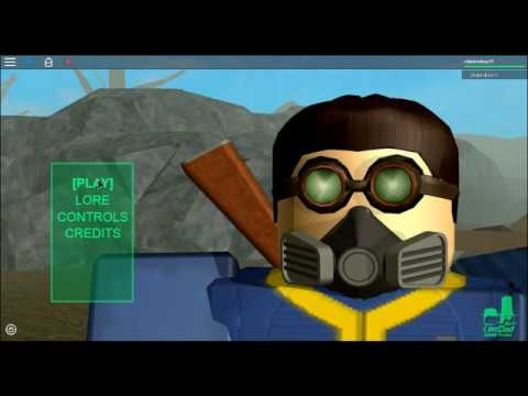 Roblox Fallout A Vault Dwellers Life Intro Youtube