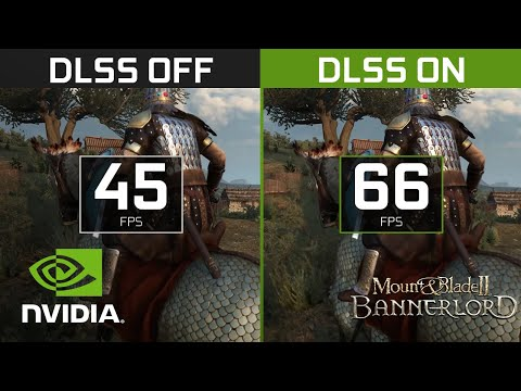Mount & Blade II: Bannerlord   4K NVIDIA DLSS Comparison