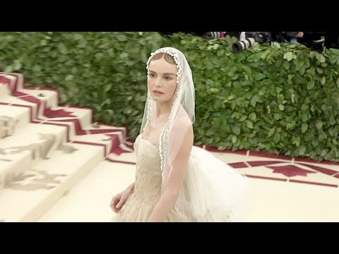 Hailey Baldwin, Kate Bosworth and more on the red carpet for the MET Costume Institute Gala