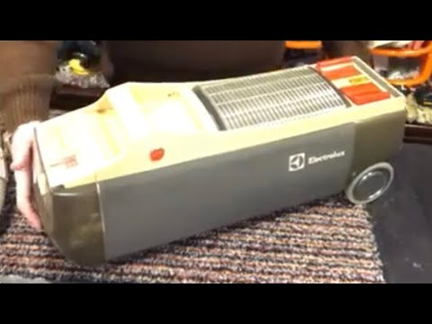Vintage Electrolux 330 Cylinder, Unboxing, Disappointment & Joy