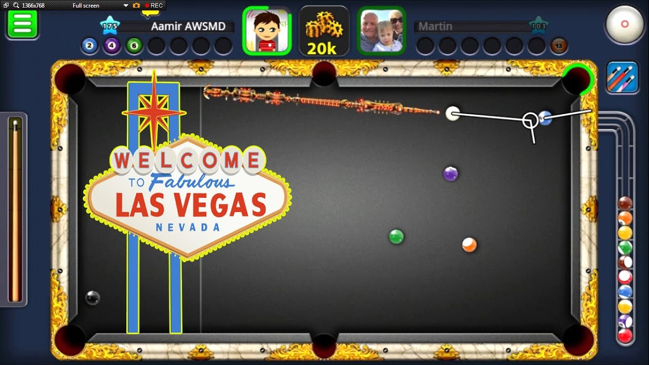 8 ball pool 10m giveaway las vegas ring w inferno cue for Pool show las vegas november