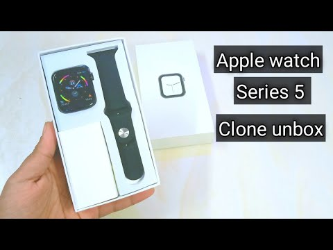 Apple Watch Series 5 Clone Unboxing