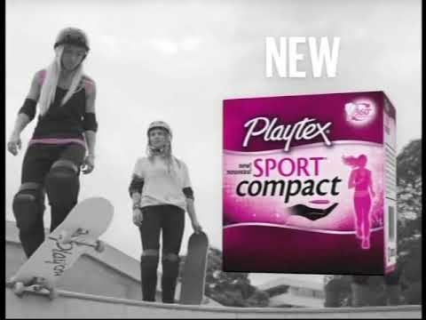 8e60238e6 Playtex sports compact TV commercial (2017) - YouTube