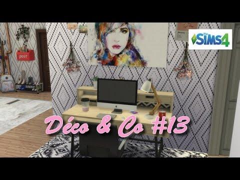 Les sims 4 d co co 13 appartement d 39 une youtubeuse for Deco appartement sims 4