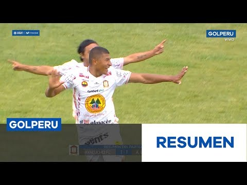 Ayacucho Alianza Huanuco Goals And Highlights