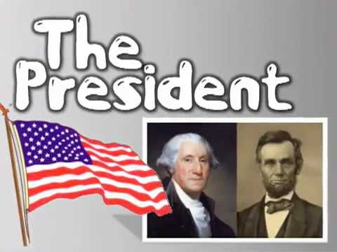 THE PRESIDENT! children's song about Washington and Lincoln