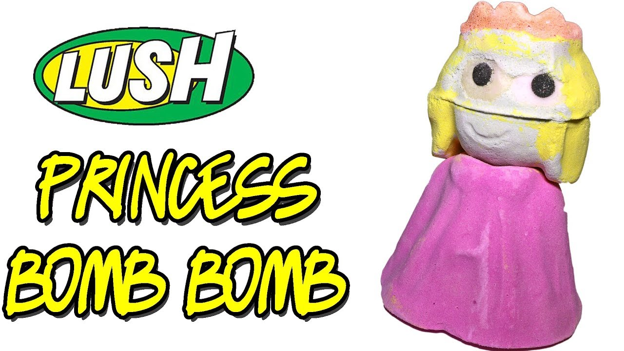 Christmas Bath Bombs Lush.Lush Princess Bomb Bomb Bath Bomb Christmas 2018 Demo Review Underwater View
