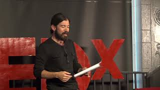 Our relationship with story | Jes Therkelsen | TEDxWoodwardPark