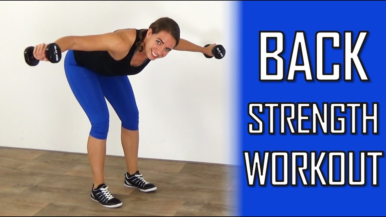 10 Minute Back Strength Workout At Home Back Exercises With