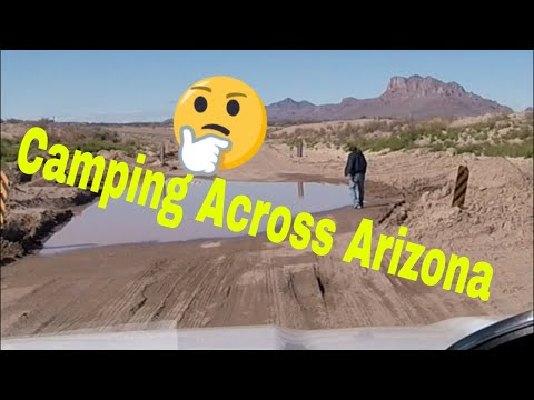 RV Parks In Casa Grande, AZ And Bowie AZ And Hot Wells Dune BLM