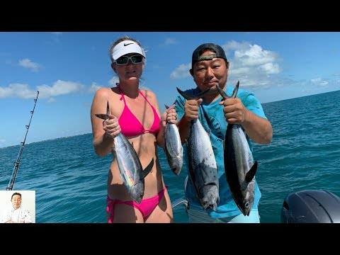 Almost LIVE Tuna Sashimi (Slightly Graphic) | Catch, Clean, SUSHI