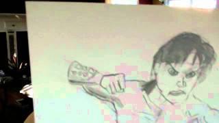 My Drawing of Liu Kang