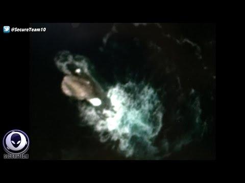 What Is It? Strange Glowing Object In Ocean Off Antarctica 4/28/16