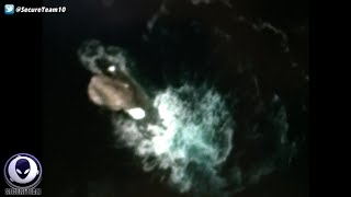 What Is It? Strange Glowing Object In Ocean Off Antarctica 4/28/16