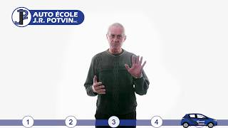 Les 5 Préceptes Pour Réussir Son Examen De Conduite à La SAAQ (Auto École J.R. Potvin Québec)